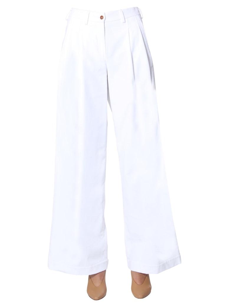 Jejia Pants With Clips - BIANCO