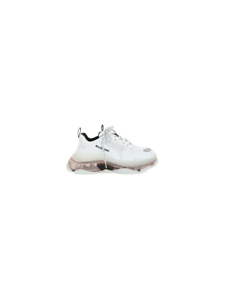 Balenciaga Triple S Sneakers - White/grey