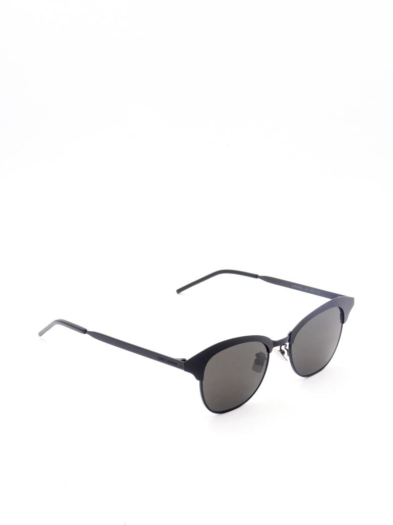 Saint Laurent SL 356 METAL Sunglasses - Black Black Black