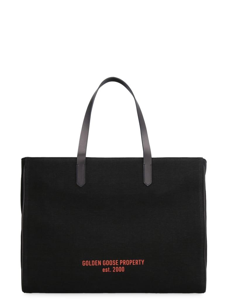 Golden Goose California Canvas Tote Bag - black