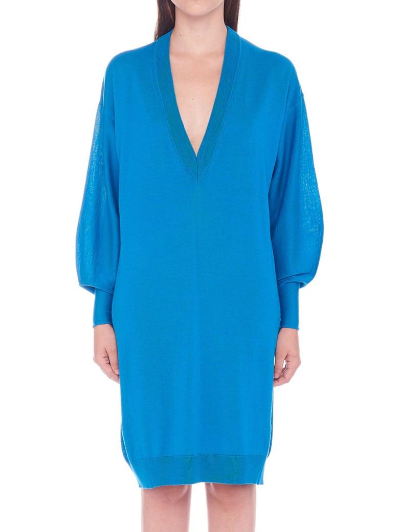 (nude) Dress - Light blue