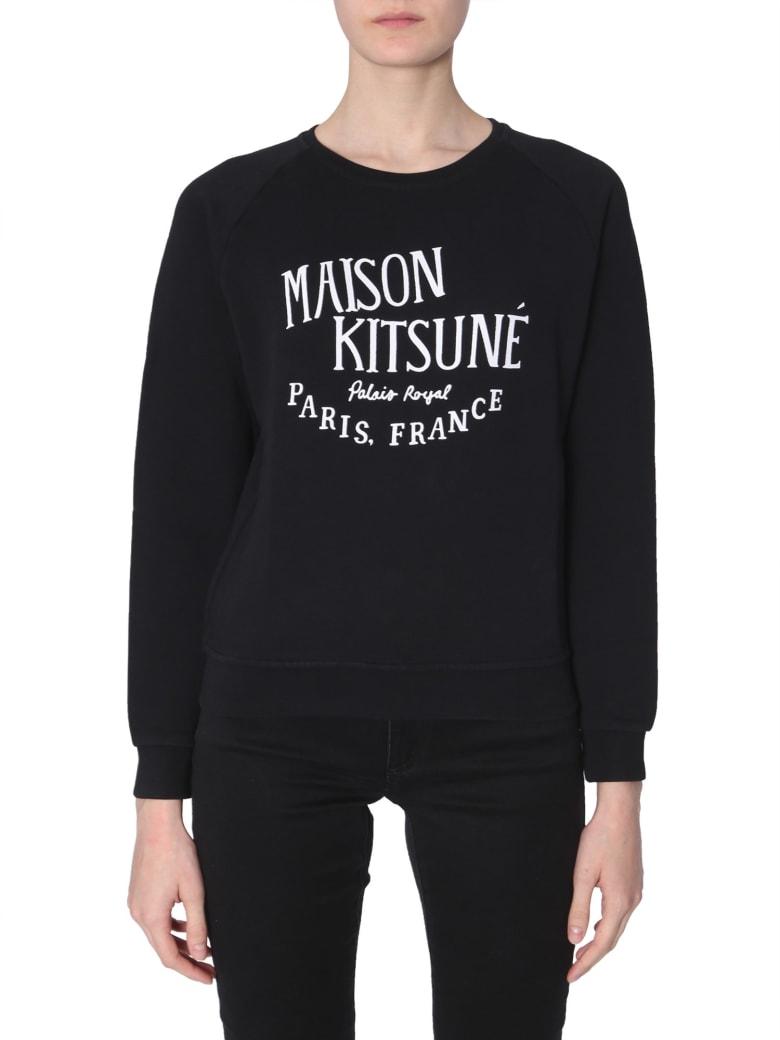 Maison Kitsuné Palais Royal-print Sweatshirt - NERO