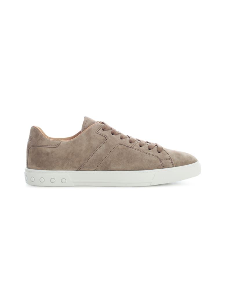 Tod's Suede Sneakers - Peat