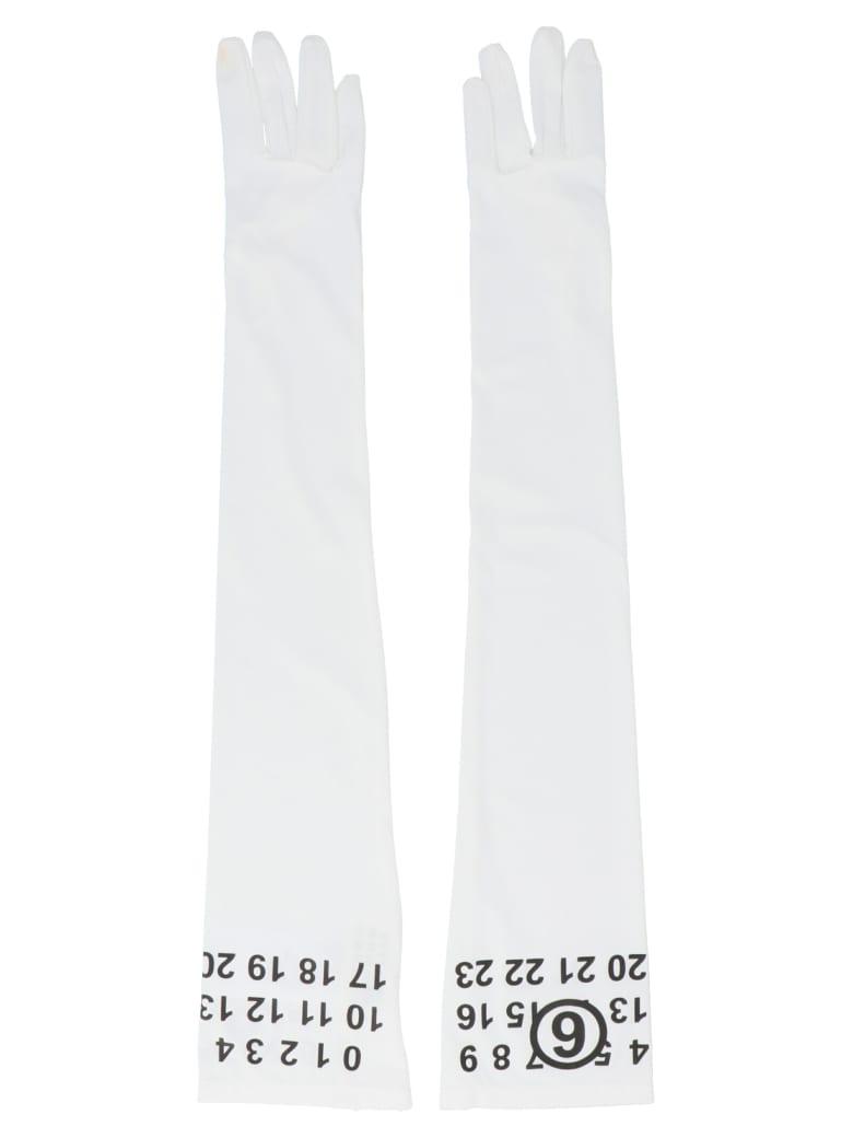 MM6 Maison Margiela Gloves - White