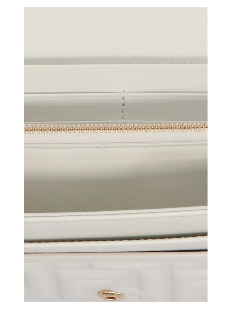 Fendi 'continental On Chain' Wallet - White