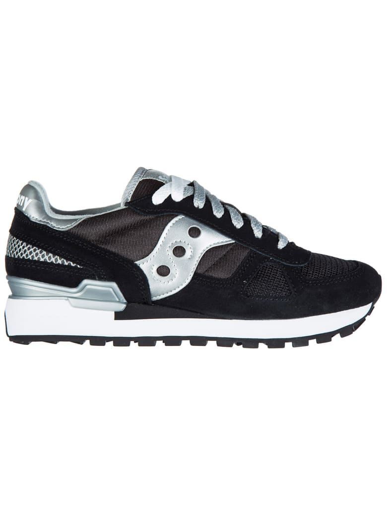 Saucony  Shoes Suede Trainers Sneakers Shadow O - Black / Silver