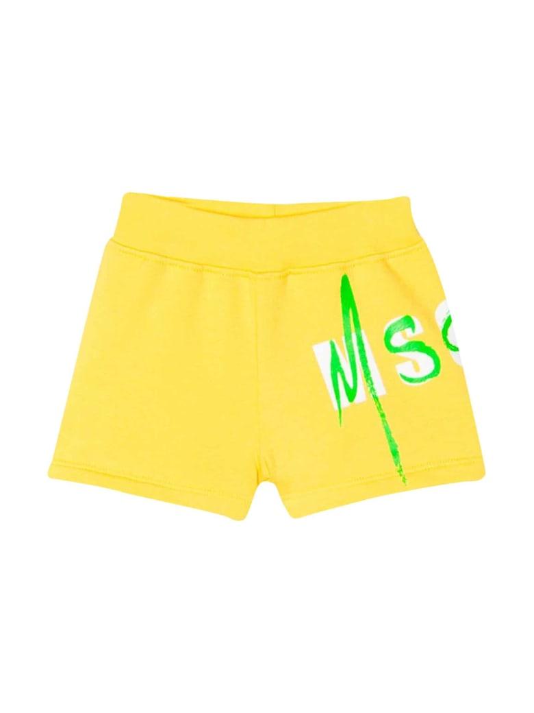 MSGM Yellow Shorts - Gialla