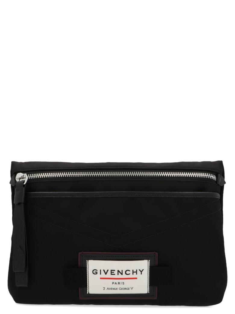Givenchy 'new Line Signature Address' Bag - Black