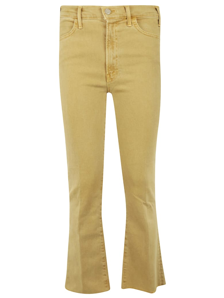 Mother High Waist Jeans - Mustard