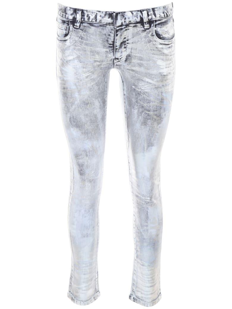 Faith Connexion Laminated Jeans - SILVER (Grey)