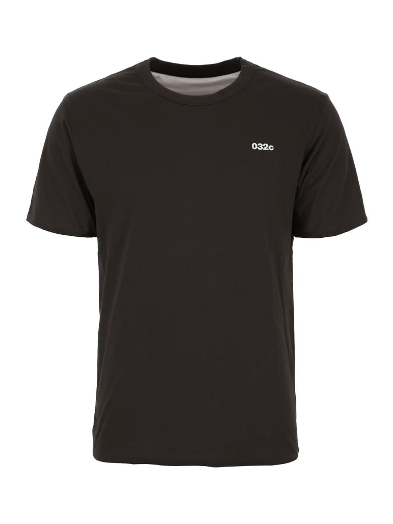 032c Reversible Logo T-shirt - BLACK (Black)