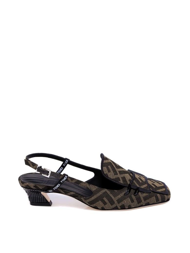 Fendi Sandals - Brown