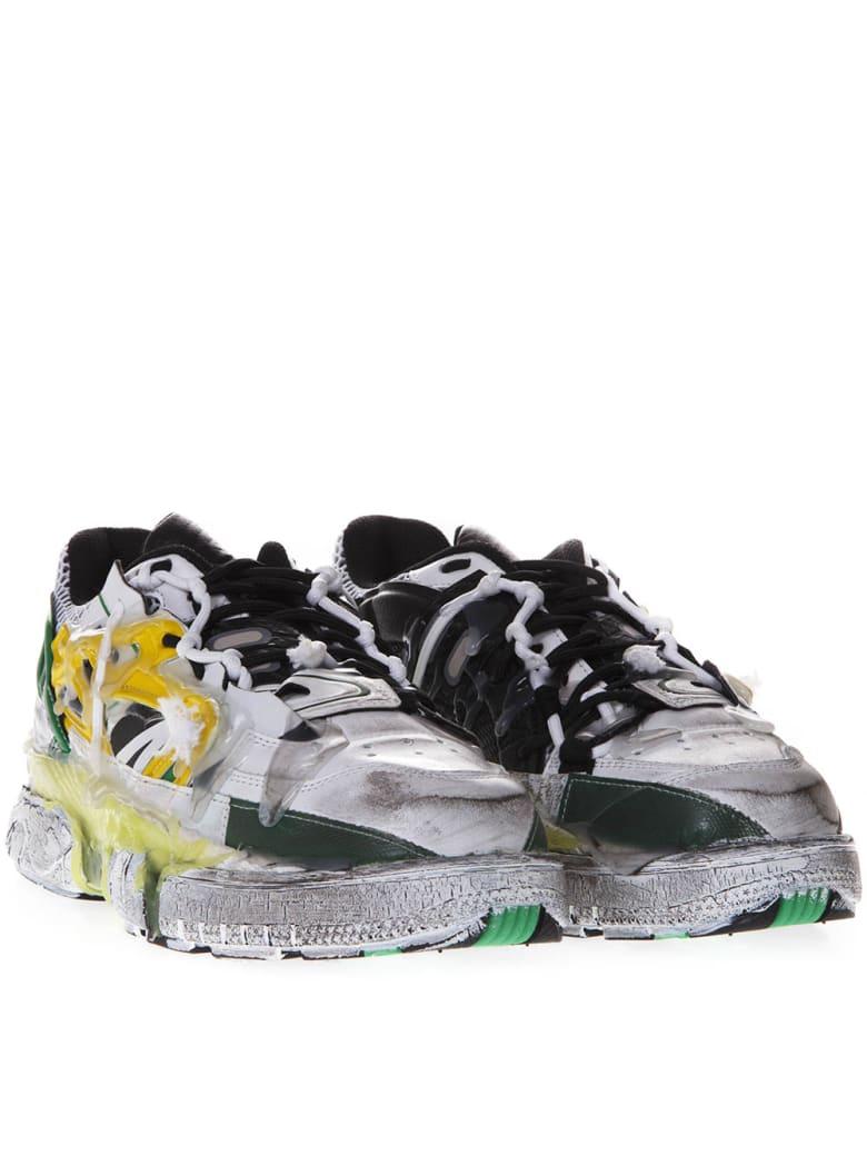 maison margiela distressed sneaker