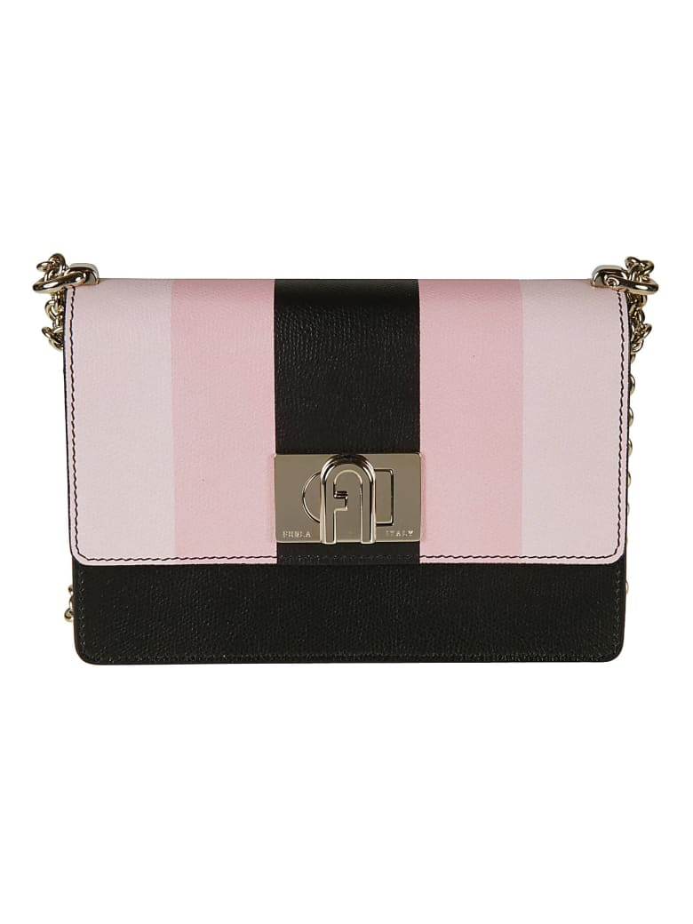 Furla Flap Chain Shoulder Bag - pink