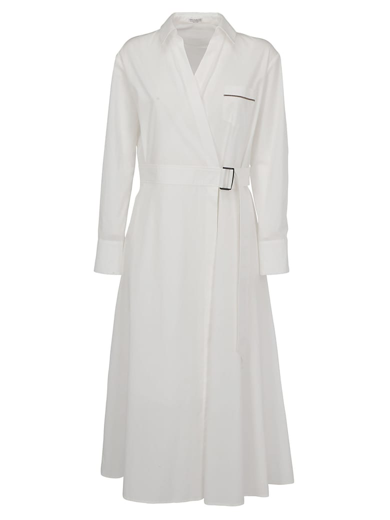 Brunello Cucinelli Dress - White