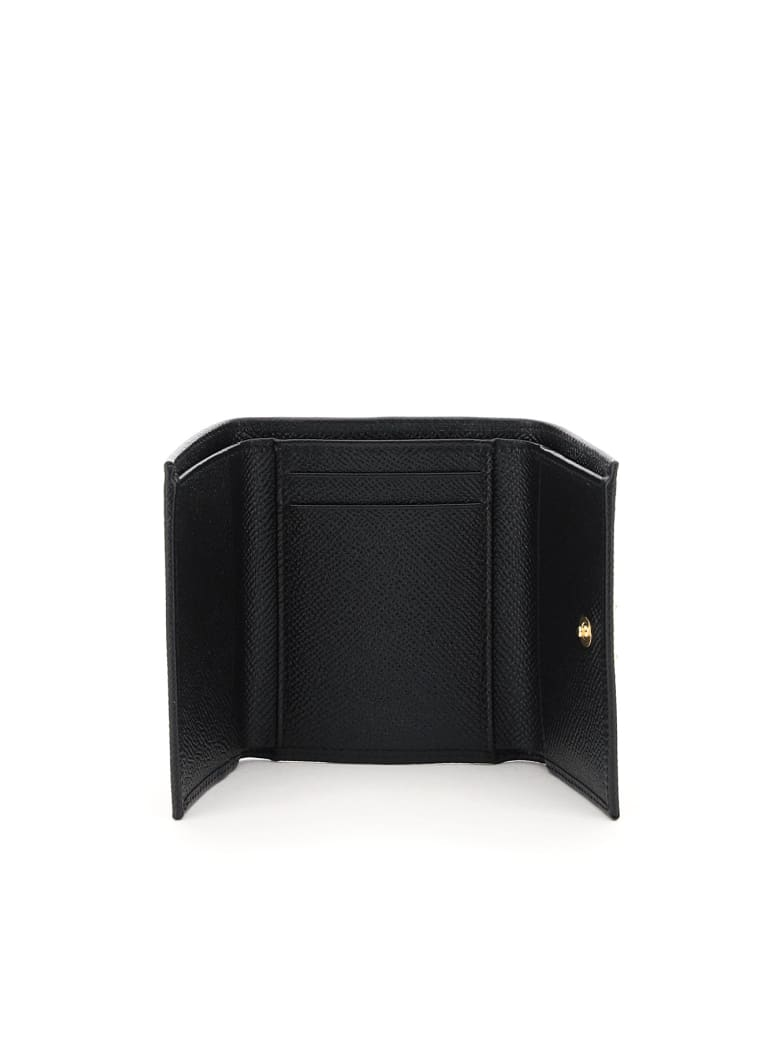 Dolce & Gabbana French Flap Wallet - Nero