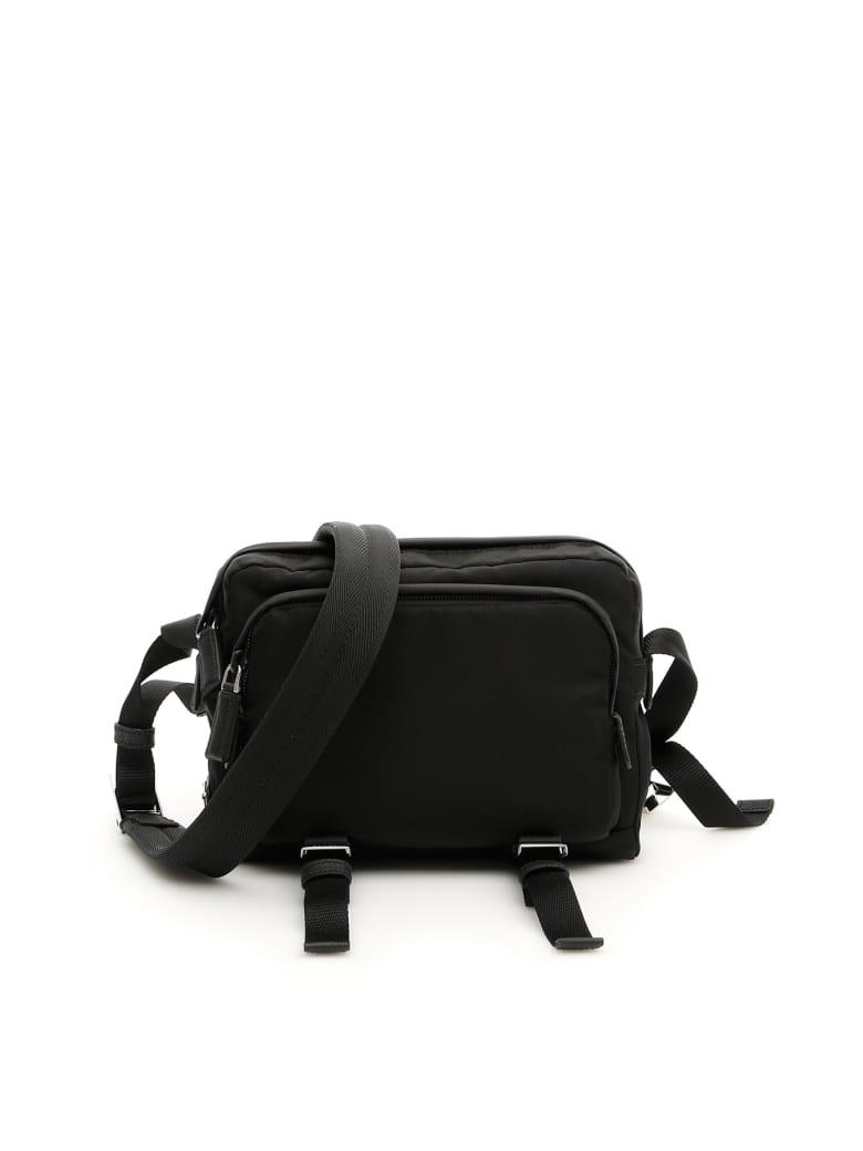 Prada Nylon Messenger Bag - NERO (Black)