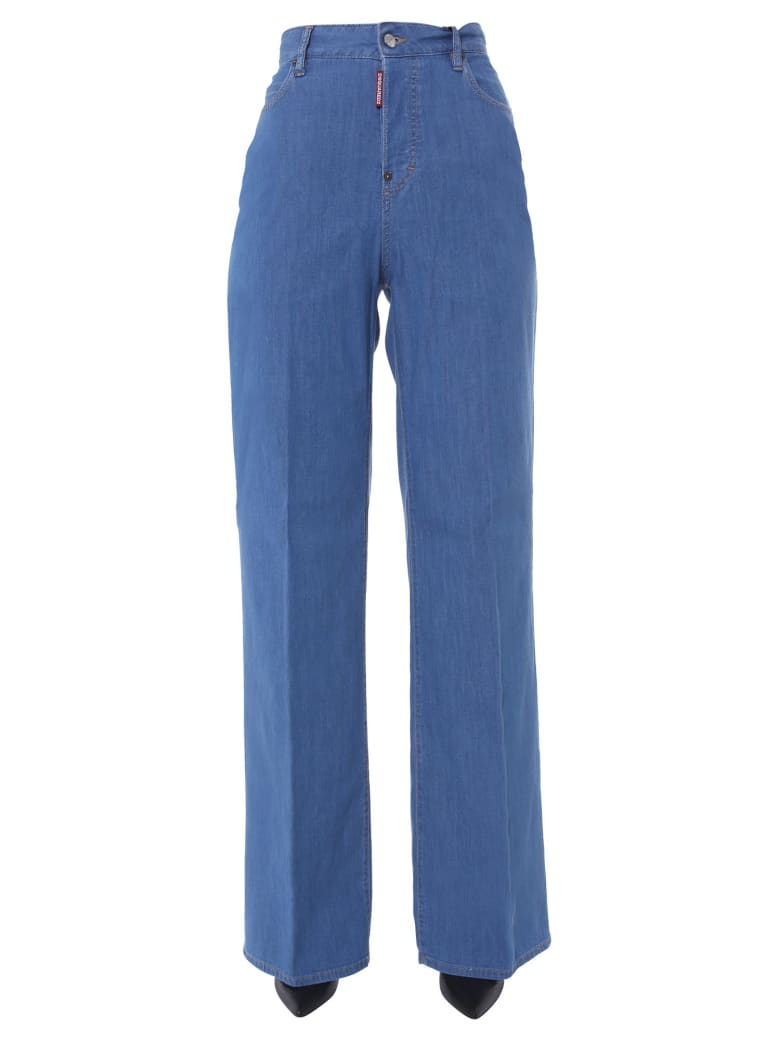 Dsquared2 Basic Bohemian Jeans - Denim
