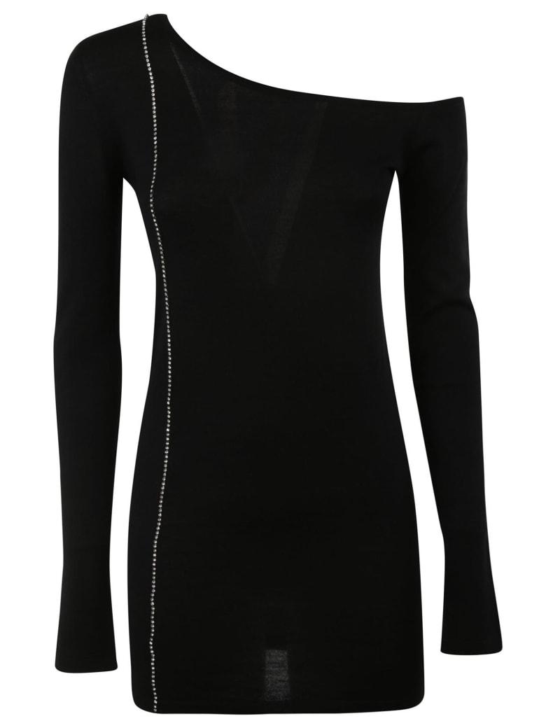 N.21 Crystal Embellished Dress - Black
