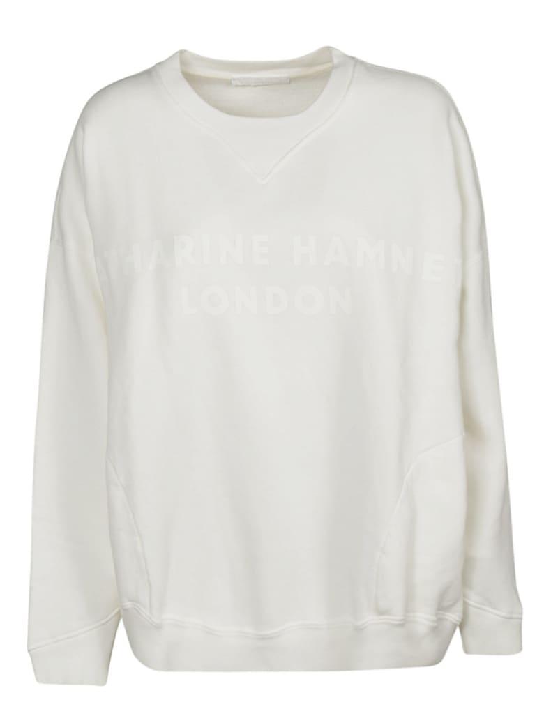 Katharine Hamnett Logo Print Sweatshirt - White