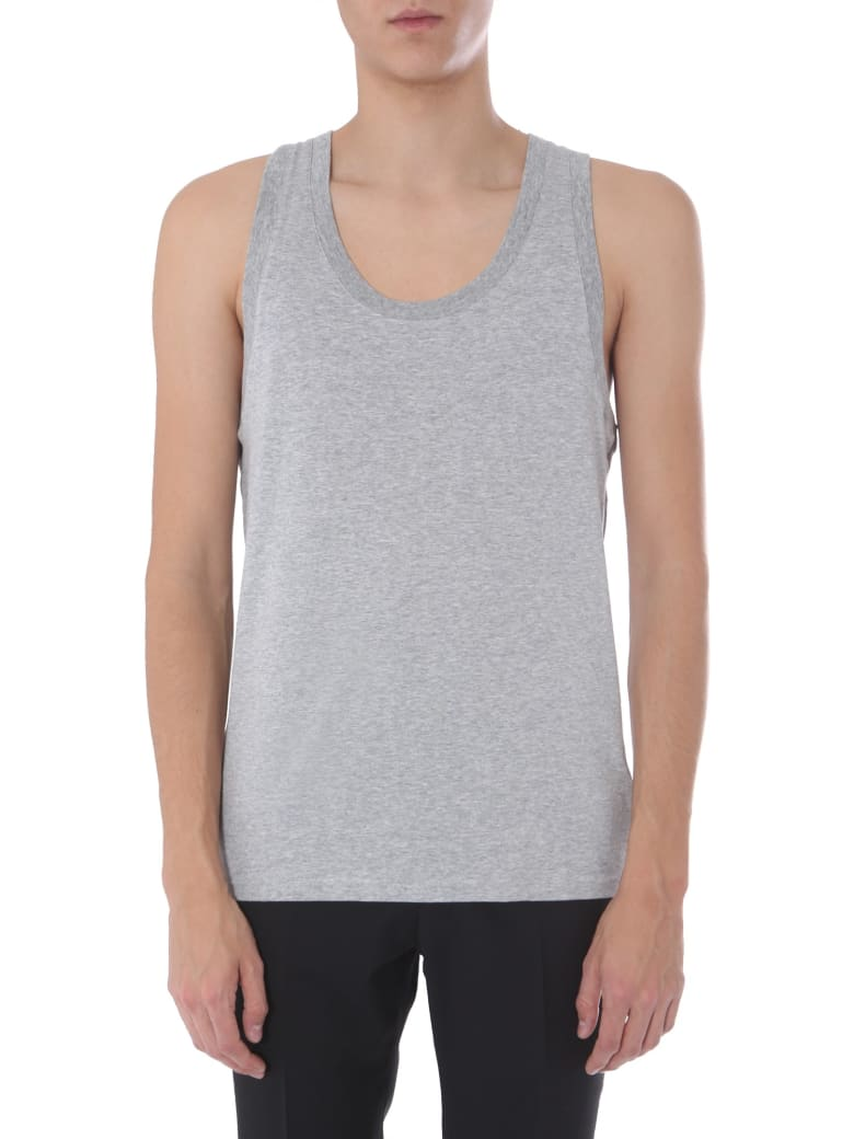 Dolce & Gabbana Pack Of Two Tank Tops - GRIGIO