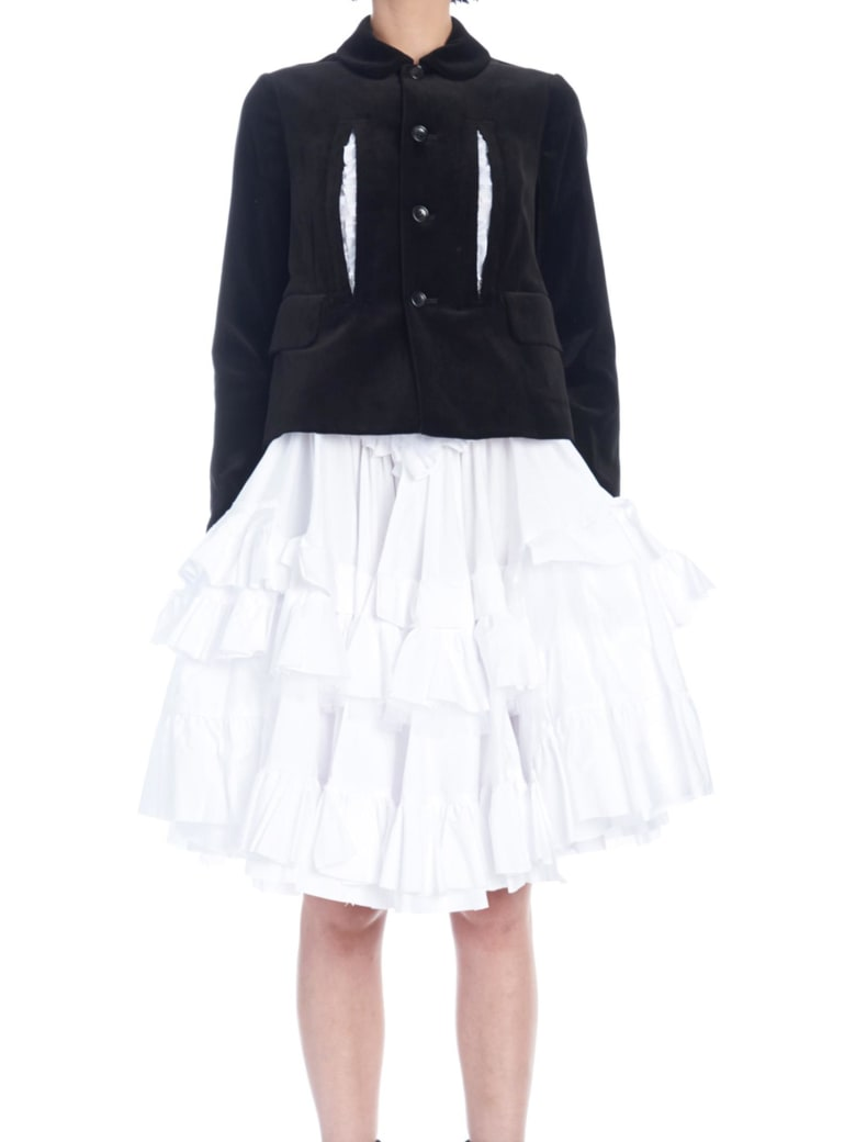 Comme des Garçons Jacket - Black&White