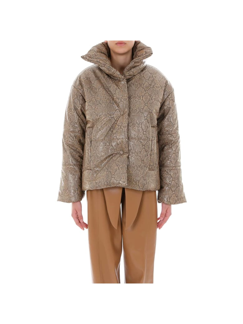 Nanushka Hide Jacket - Brown