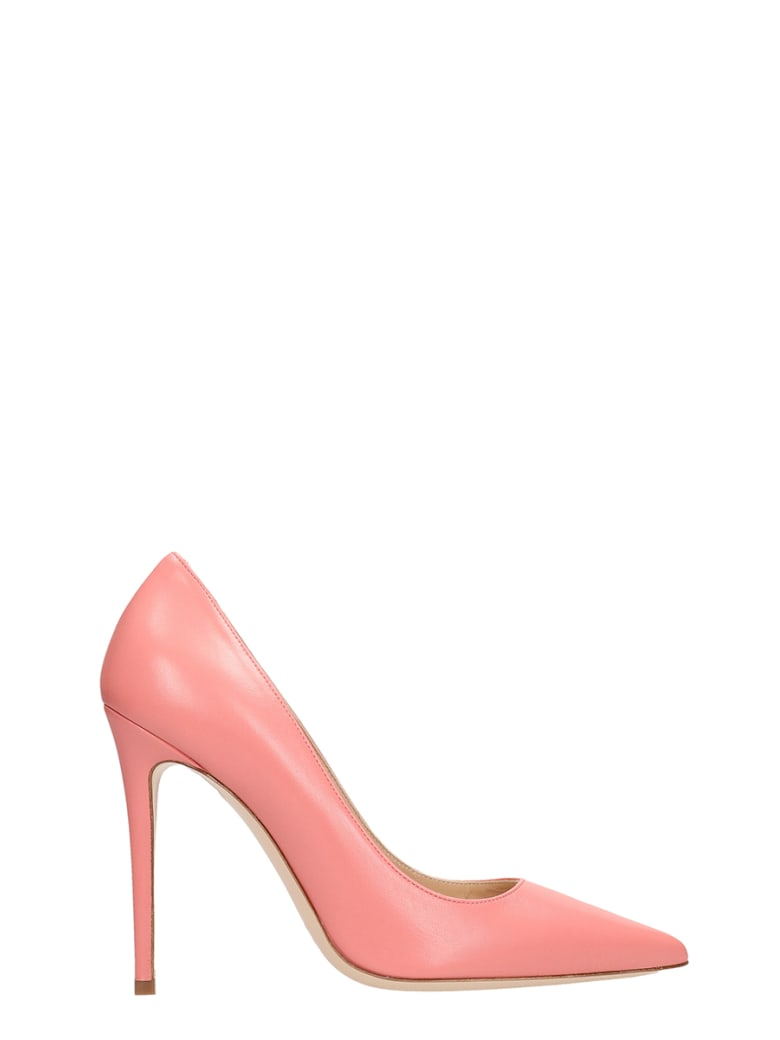 wholesale dealer 6ae1b 10b1e Best price on the market at italist | Dei Mille Dei Mille Pink Calf Leather  Pumps