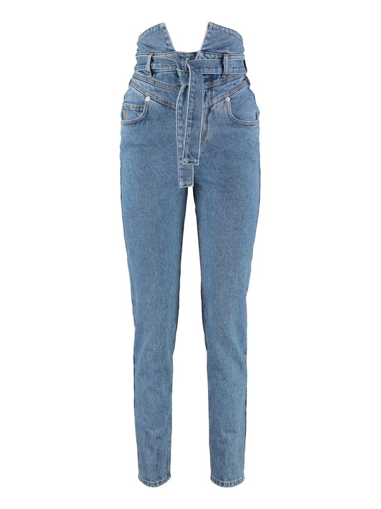 The Attico High-rise Skinny Jeans - Denim