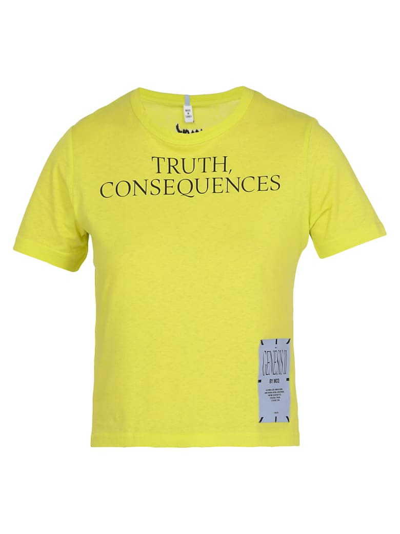 McQ Alexander McQueen Mcq Truth T-shirt - VENOM