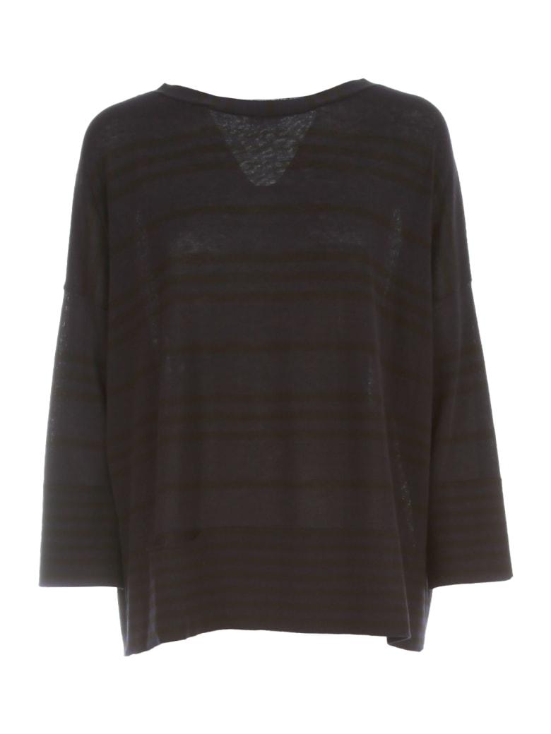 Archiviob Striped Sweater S/s - Blu Nero