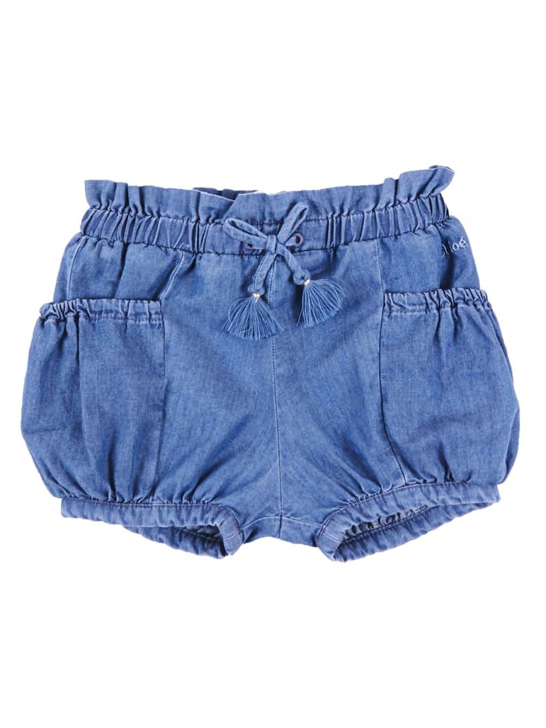 Chloé Shorts - Denim Blue