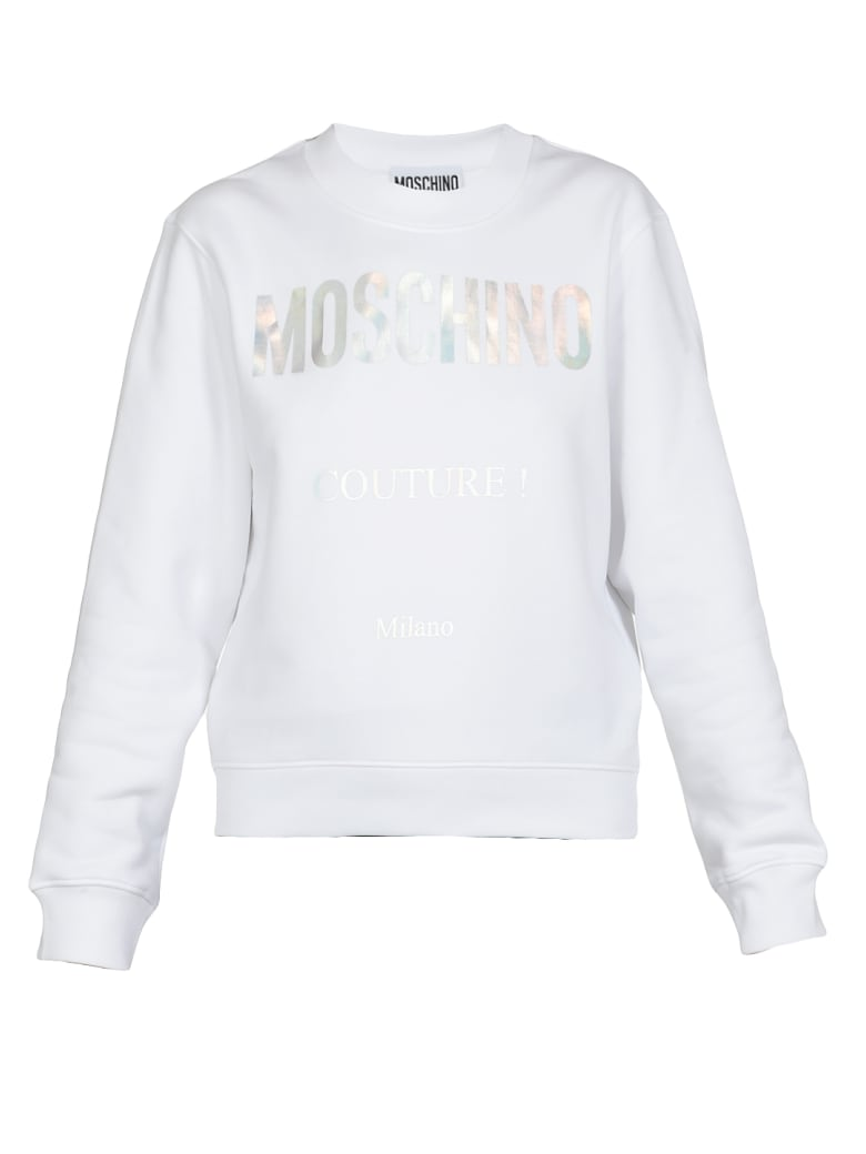 Moschino Couture Sweatshirt - Bianco