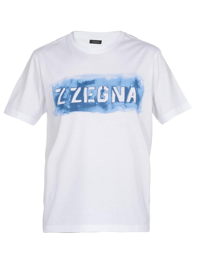 Ermenegildo Zegna Cotton T-shirt - WHITE