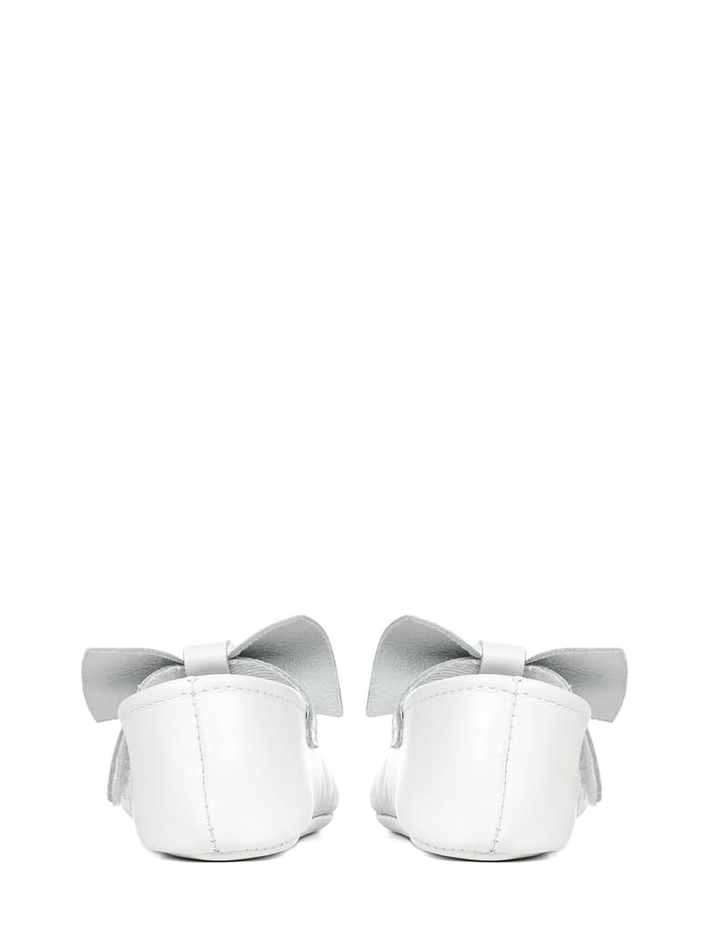 Il Gufo Ballet Flats - White