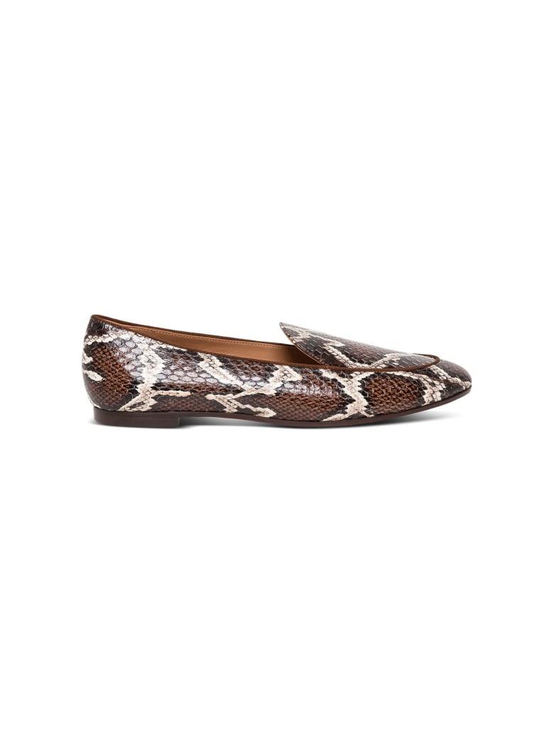 Aquazzura Leather Mocassin - Brown