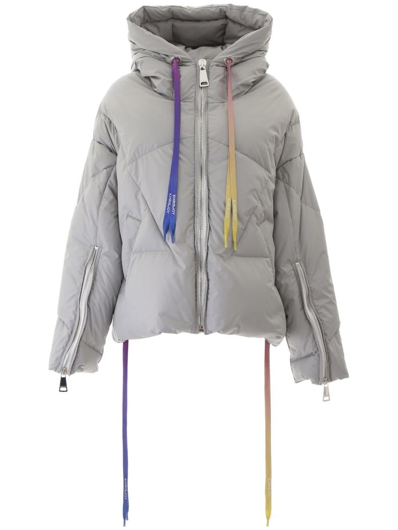 Khrisjoy Khris Down Jacket - LIGHT GREY (Grey)