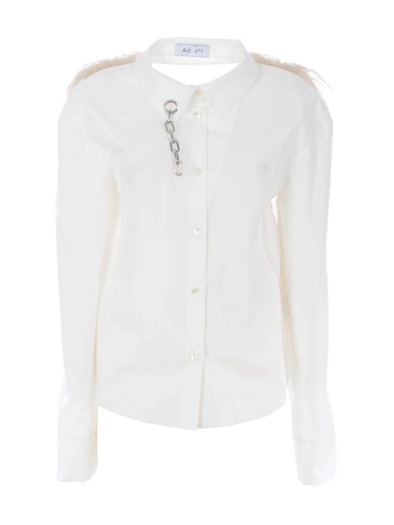 Act n.1 Shirt - Bianco latte/avorio