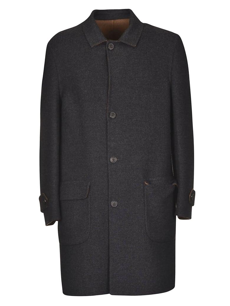 Corneliani Classic Coat - Dark Grey