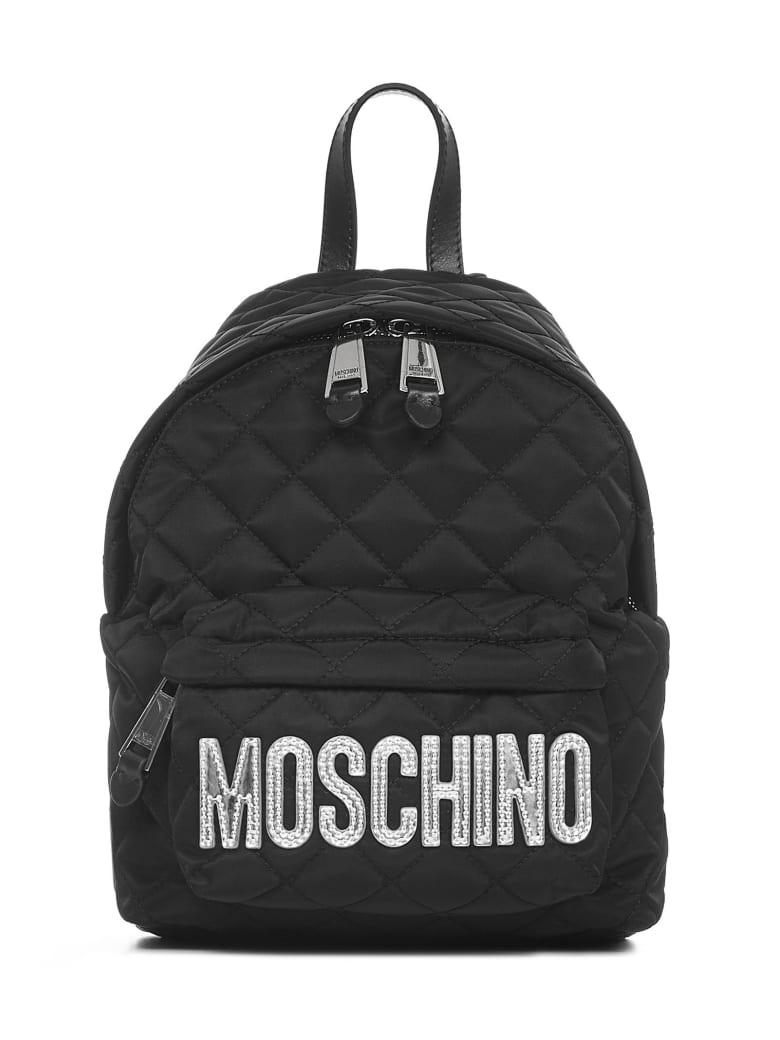 Moschino Backpack - Black