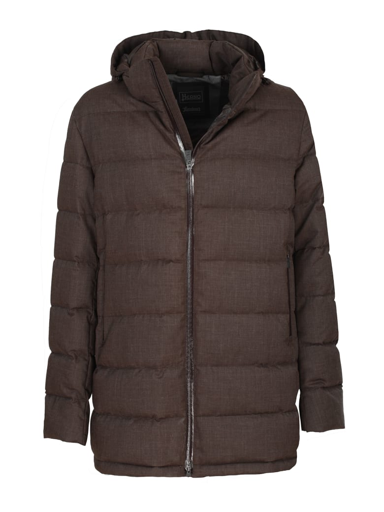 "Herno jacket ""Laminar Down Jacket"" - Marrone"