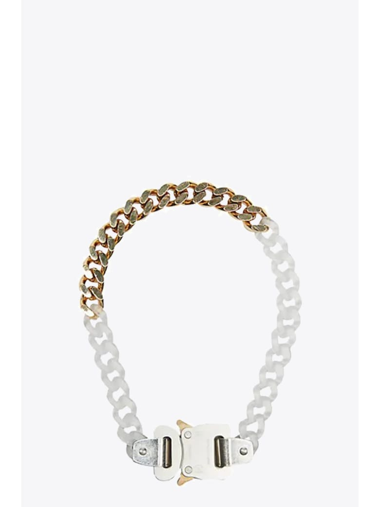 1017 ALYX 9SM Transparent Chain And Metal Necklace - Trasparente/oro