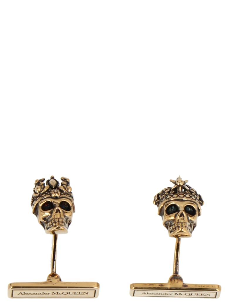 Alexander McQueen Cufflinks - Gold