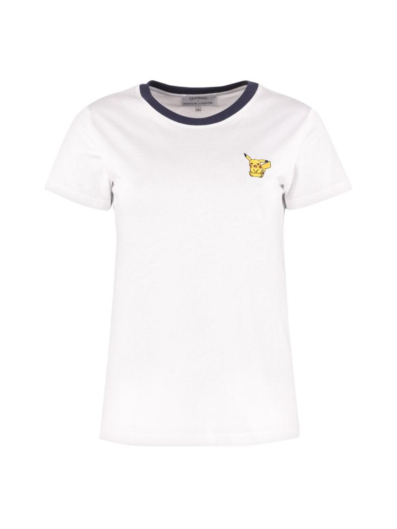 Maison Labiche Pokémon X Maison Labiche Cotton T-shirt - White