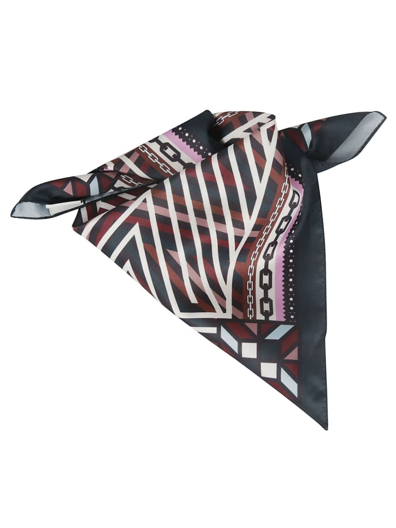 the VOLON Printed Foulard - Multicolor