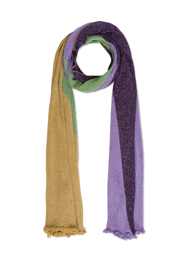 M Missoni Color Block Viscose Stole - Multicolor