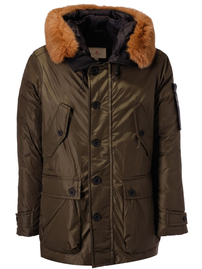 lowest price fa3d3 89658 Best price on the market at italist   Peuterey Peuterey Thoms Nb Fur Hooded  Parka
