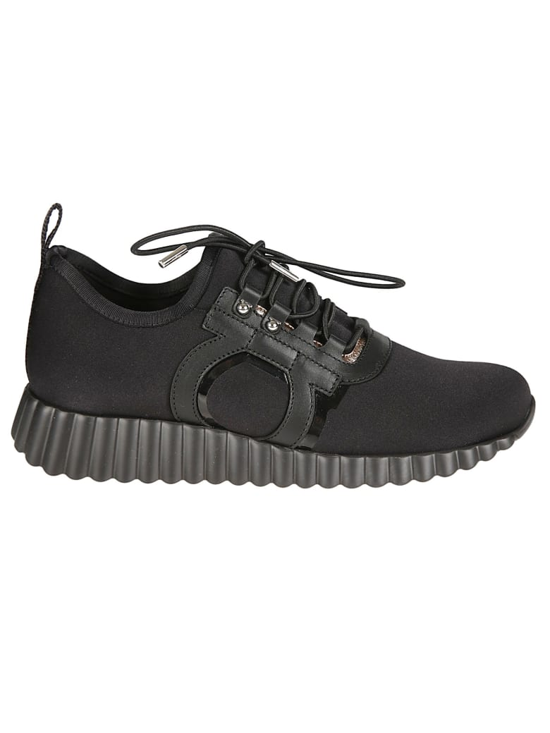 Salvatore Ferragamo Rebekka Sneakers - Black
