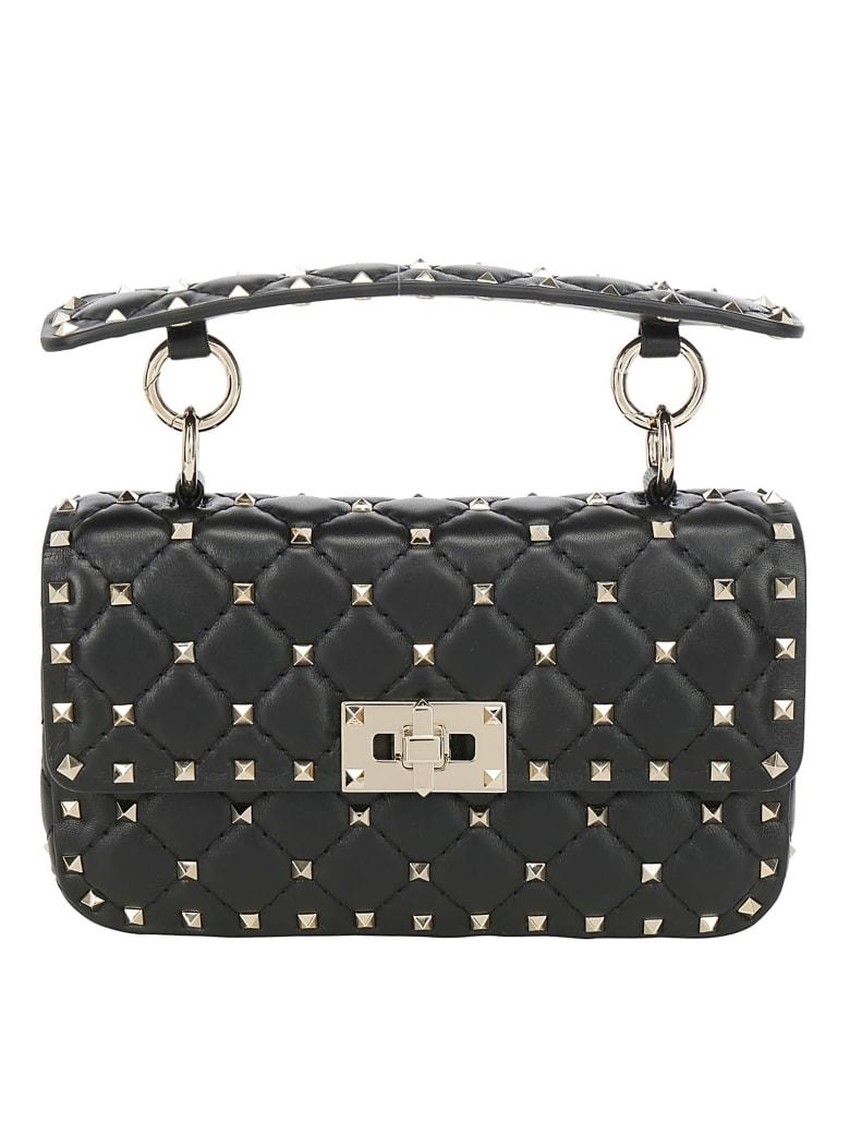 Valentino Garavani Rockstud Spike Handbag - Nero