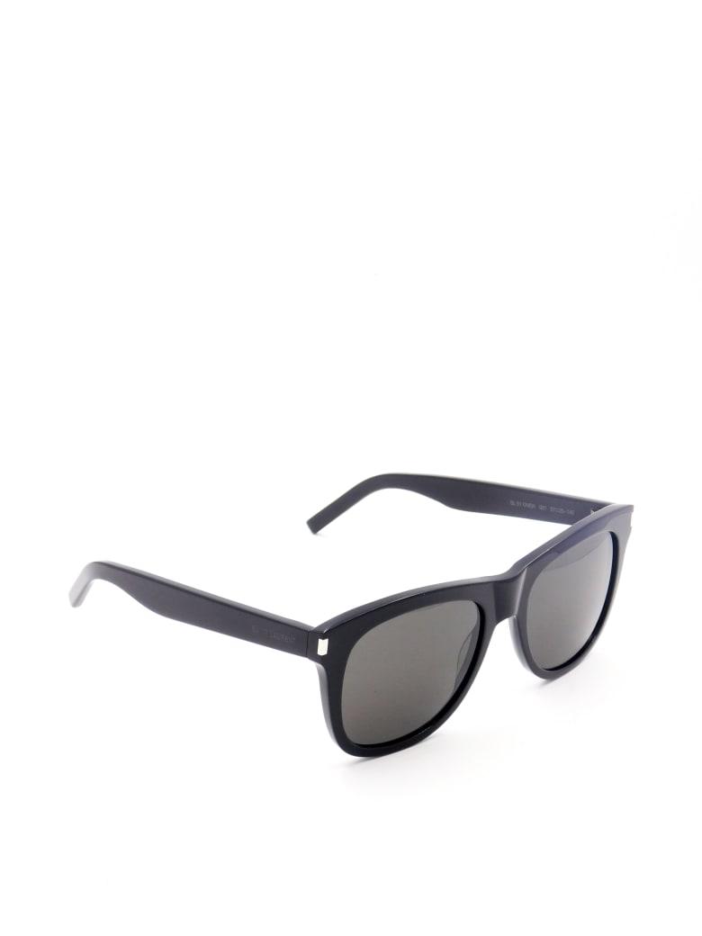 Saint Laurent SL 51 OVER Sunglasses - Black Black Black